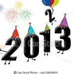 año nuevo 2013 y nochevieja 2012