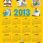 calendario-2013-de-los-simpson-para-imprimir
