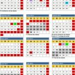 Calendario Escolar 2013 España