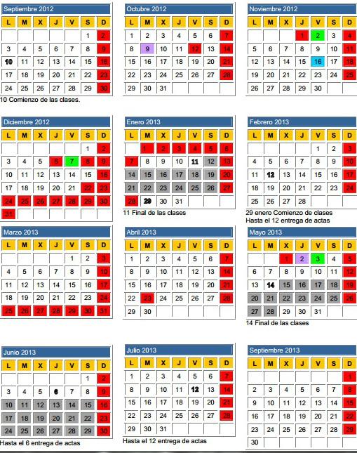 calendario españa