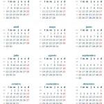 Calendario 2013 de feriados y laboral México