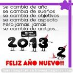 imagen y frase año nuevo 2013