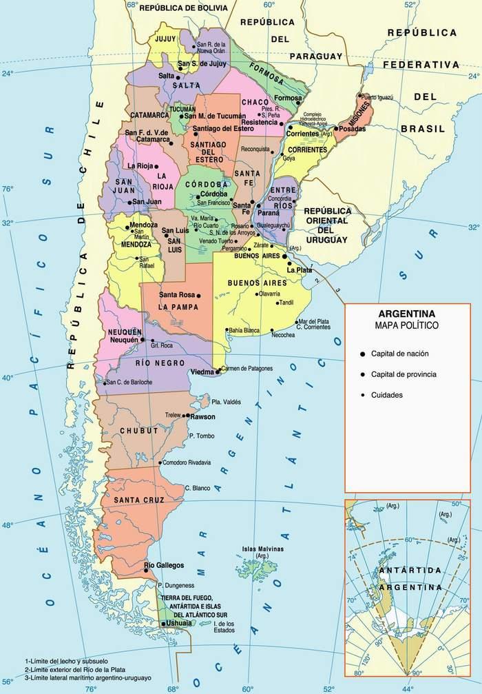 gobernadores provincia argentina: