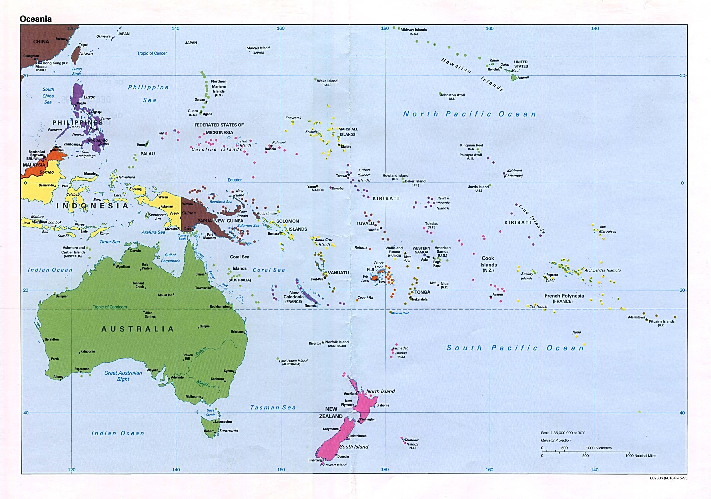 mapa-politico-oceania