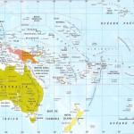 Mapas de Oceania: Fisico y Politico