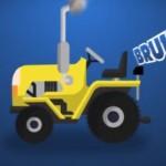 imagen del polloto pio tractor bruum