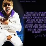 Frases de Justin Bieber en español para facebook