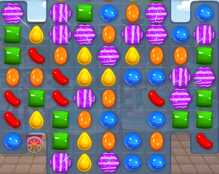 combinacion candy crush bomba de color