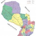 Descargar mapas de Paraguay Fisico y Politico