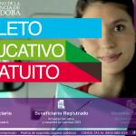 Sacar boleto educativo gratuito 2013 Córdoba