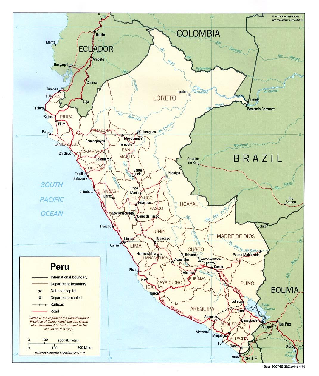 Peru_Political_Map