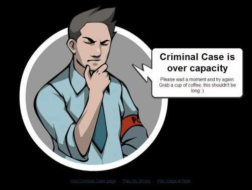 criminal case is over capacity