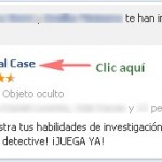 Quitar invitaciones y notificaciones de Criminal Case