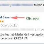 Quitar invitaciones y notificaciones de Criminal Case