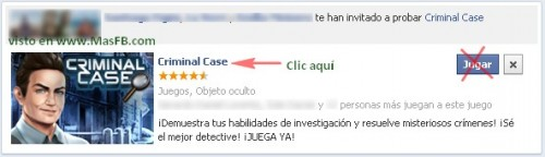 Notificaciones Criminal Case