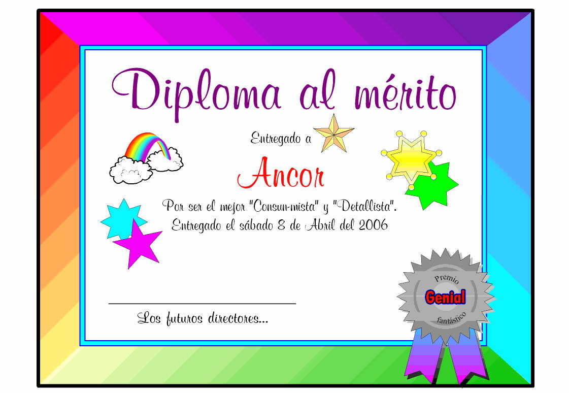 Diplomas para editar en photoshop | Universo Guia