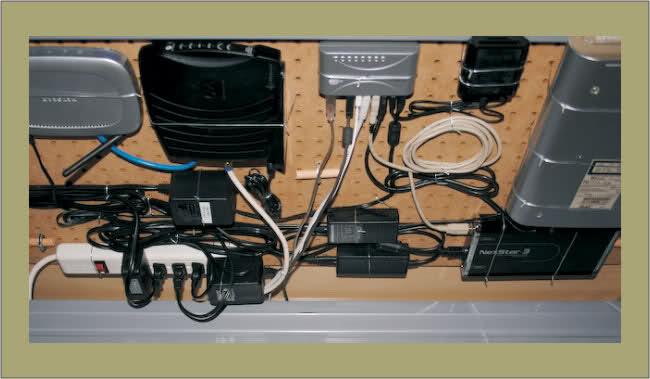 Caja Decorativa Router