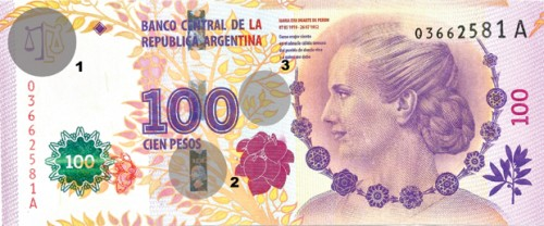 billete eva 1