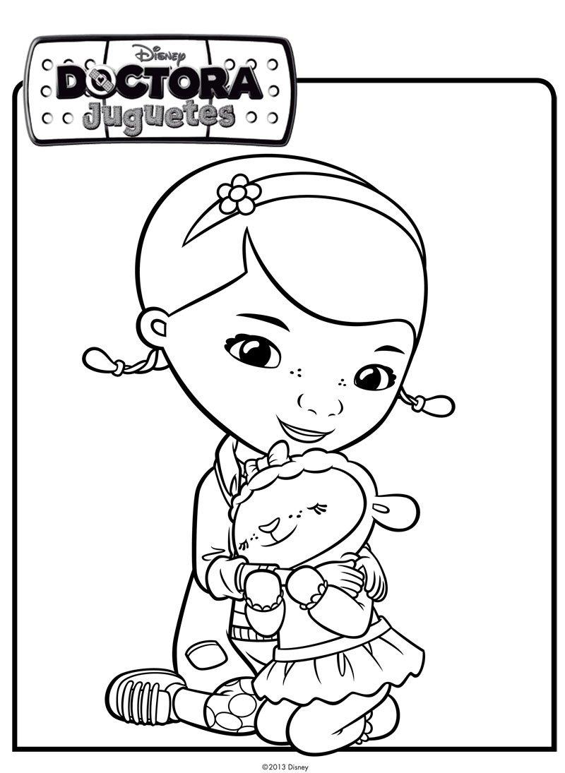 Nuevos dibujos para colorear de Doctora Juguetes | Todo Peques