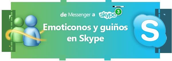 todos las caritas y guiños de skype - emoticons