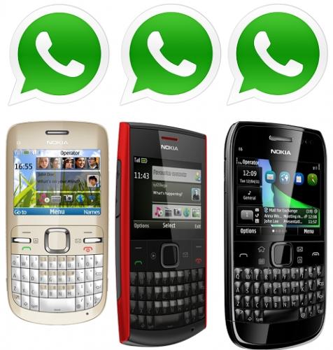 Cómo instalar WhatsApp en Nokia S60 (Symbian)