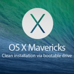 Instalar  OS X Mavericks (instalación limpia)