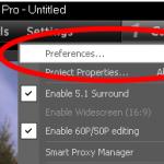 Como habilitar Smart Proxy en Corel VideoStudio