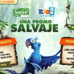 Promo Salvaje de Suave Niños Rio 2