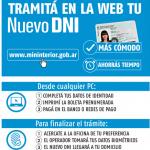 Sacar nuevo DNI por internet