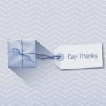 """""""Say Thanks"""", la herramienta para crear vídeos de agradecimiento de facebook"""