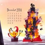 Calendario de Diciembre del 2014