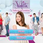 """Juego de Violetta """"Todo en mi música """""""