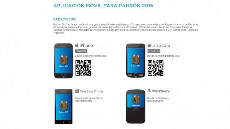 padron 2015