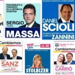 Todas las boletas presidenciales PASO 2015