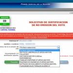 Sitio web para justificar el no voto en las PASO presidenciales 2015
