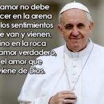 Mandar mensaje y pedido de oración al Papa Francisco