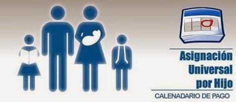 Calendario de pago Asignacion universal por hijo