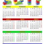 Calendario anual 2017