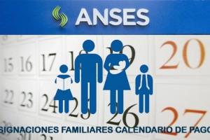 Asignaciones Familiares Calendario de pago