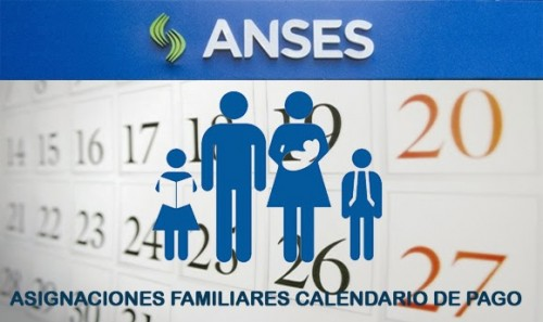 Asignaciones Familiares Calendario de pago