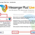 Como descargar y usar Messenger Plus! Live