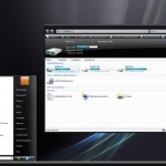 Vista Black: atractivo tema para Windows Vista