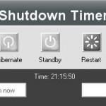 Programar Apagado y Reinicio de la PC con Vista Shutdown Timer