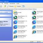 Internet Explorer Collection, todas las versiones de IE