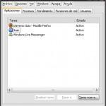 Habilitar el administrador de tareas en WinXP