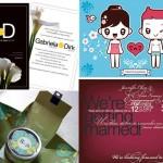 Diseños de Invitaciones para Bodas o Casamiento