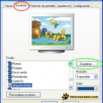 Como Cambiar el fondo de Escritorio en Windows XP