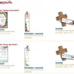 Tarjetas para Comunion, para descargar e imprimir