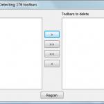 Desinstalar toolbars de internet explorer y firefox