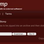 FileStomp: Comprimir archivos on-line